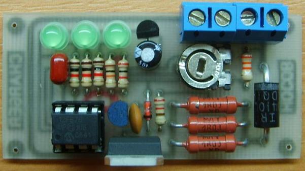 плате зарядного устройства