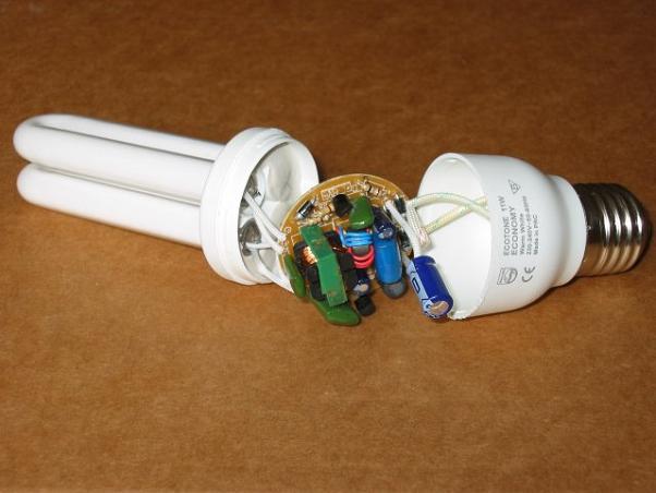 Почему перегорают энергосберегающие лампы