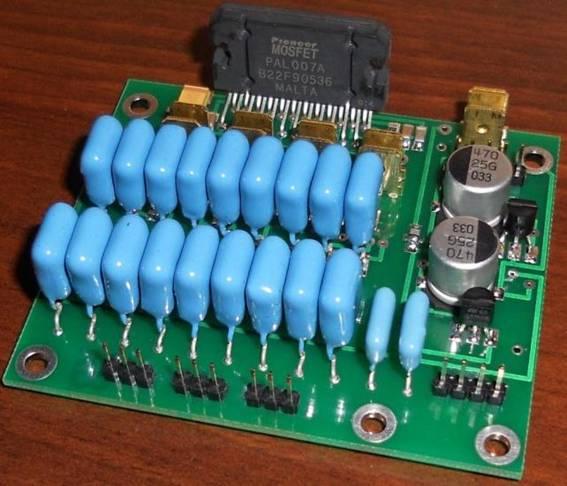 Цифровой темброблок TDA7313 (3 кан.) + усилитель...